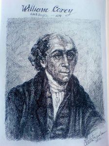Schita - Portret William carey (Violeta Lecca Balan)