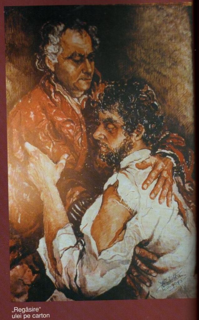 Regasire - Violeta Lecca Balan (pastel, pe carton alb)