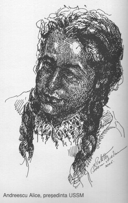 Andreescu Alice, presedinta USSM