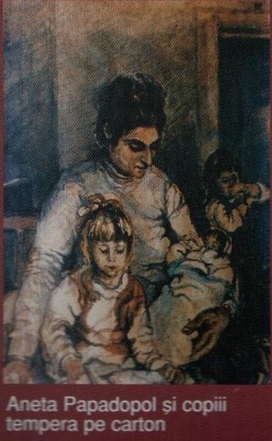 Aneta Papadopol si copiii