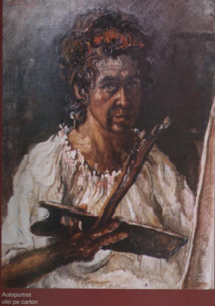 Autoportret cu sevalet