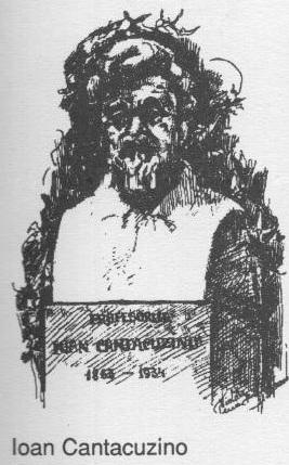 Ioan Cantacuzino (schita creion pe carton)