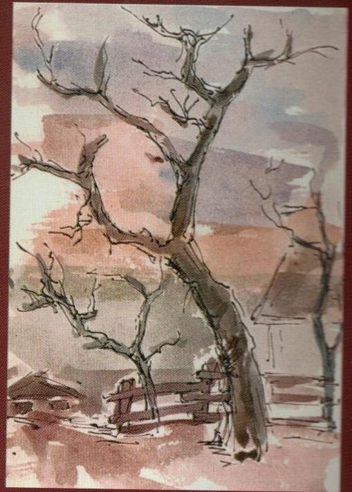 Copaci - Corina-Ligia (culori de apa)