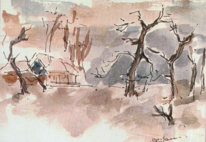 Peisaj - Corina-Ligia (culori de apa)