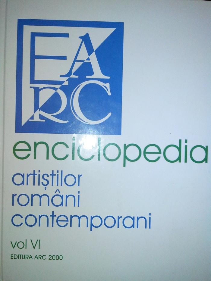 Enciclopedia, artistilor ,romani, contemporani ,Vol. VI, maestra,  Violeta, Lecca, Balan